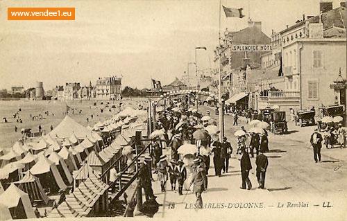 Les sables d 39 olonne photos cartes postales anciennes - Les sables d olonne office de tourisme ...