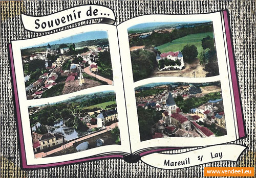 mareuil sur lay photos cartes postales anciennes sorties en vend e tourisme. Black Bedroom Furniture Sets. Home Design Ideas