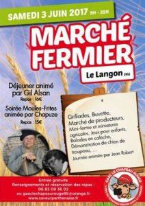 Marché fermier en Vendée