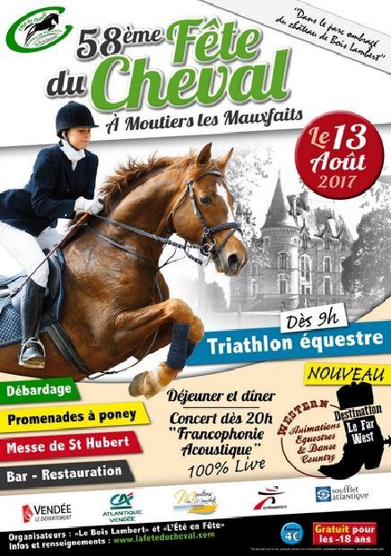 Fête du Cheval - Moutiers-les-Maufaits