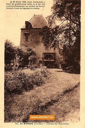Château de l'échasserie, la Bruffière