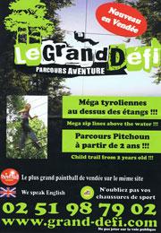 Parc le Grand Défi en Vendée